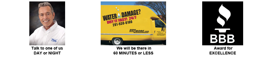 Water removal houston